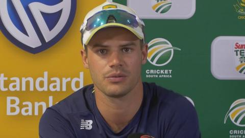 Markram ticks important box as Proteas pile up the runs