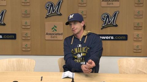 CIN@MIL: Counsell on injuries in loss to Reds