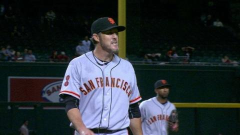 SF@ARI: Nathan escapes the jam in the 11th inning