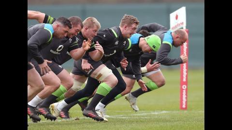 Irish Rugby TV: Ireland Team Announcement v Wales
