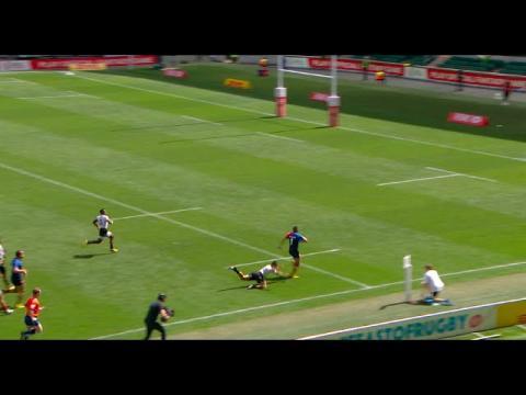 Jarryd Hayne EPIC try-saving tackle in London