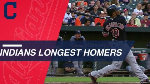 Statcast: Encarnacion highlights Tribe's longest HRs