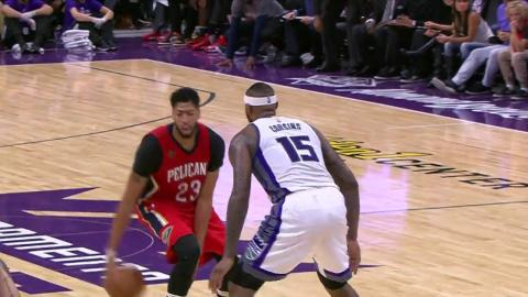 Anthony Davis Puts Up 34 to Match DeMarcus Cousins' 28 Points