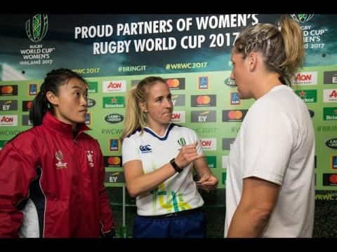 Irish Rugby TV: Joy Neville On Refereeing The Women's Rugby World Cup Final