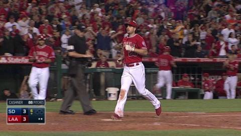SD@LAA: Joyce hits a solo home run to right