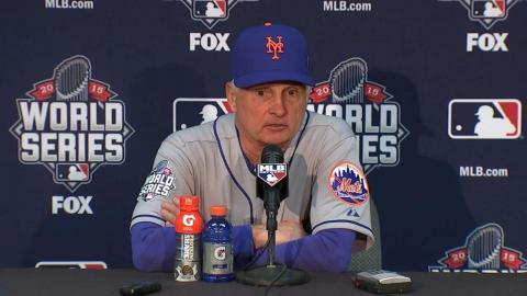 WS2015 Gm2: Collins on Game 2, deGrom's struggles