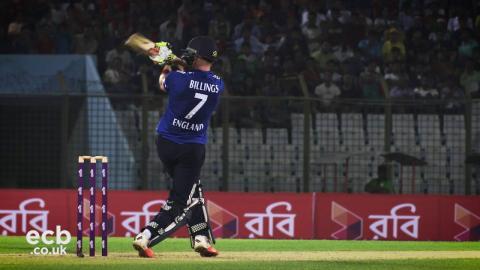 Follow England in the final Bangladesh ODI