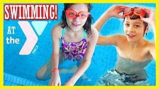 SWIMMING AT THE YMCA POOL!!  |  KITTIESMAMA