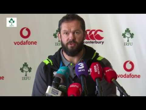 Irish Rugby TV: Average Isn't Acceptable - Andy Farrell