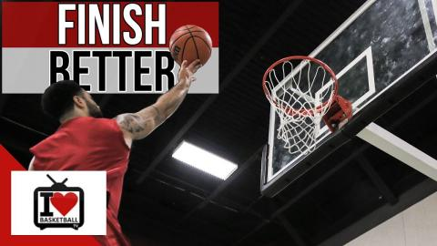 Ultimate Drill to Finish Better At The Rim (Basketball Finishing Moves)