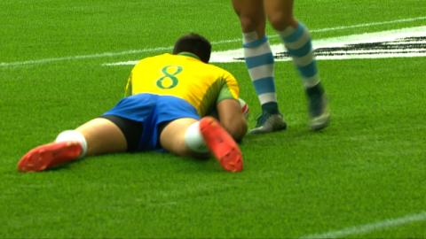 RE:Live - Big FEND leads to first Brazilian try in Vancouver!