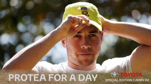 The Aussie who became a Protea for a day