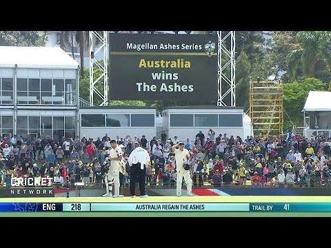 Third Test: Australia v England, day five