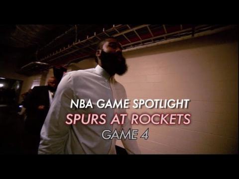 NBA Game Spotlight: Spurs at Rockets Game 4