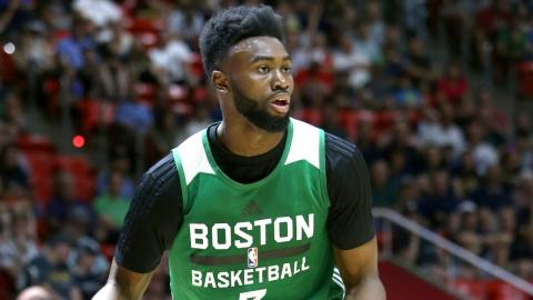 Jaylen Brown Heats Up In Summer League Action