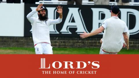 Moeen Ali's Wonder Catch | Lord's Highlights 2015