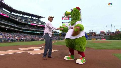 WSH@PHI: Under Secretary of the Army on first pitch