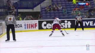 Ice Hockey IIHF 2015 Russia-Norway 6:2 Ostrava Хоккей ЧМ 2015 Россия-Норвегия Острава