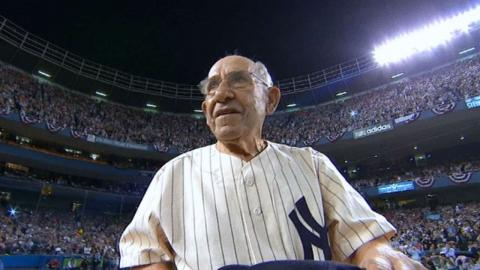 Major League Baseball remembers Yogi Berra