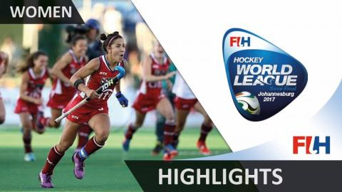 Highlights from the Hockey World League Johannesburg Women