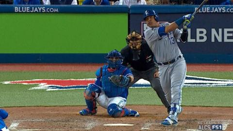 ALCS Gm5: Perez puts Royals on board with solo shot
