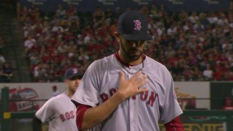 BOS@LAA: Price works out of a bases-loaded jam in 5th