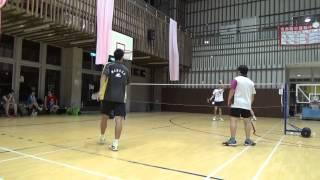 20150503FUMA Badminton Club MD北極熊+施貴均vs放逐+張逢嘉