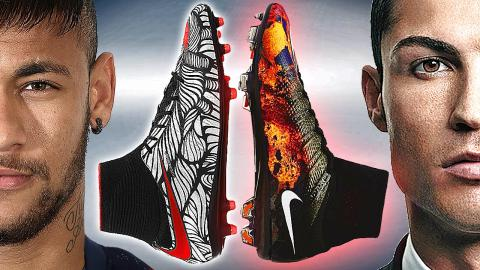 Neymar Jr. vs CR7 Ronaldo Boot Battle: Nike Hypervenom II vs Mercurial Superfly 4 - Review