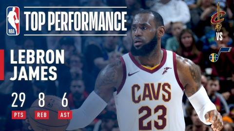 LeBron James Scores 29 Pts on His 33rd Birthday   December 30, 2017