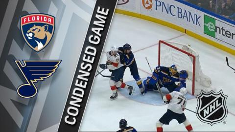 01/09/18 Condensed Game: Panthers @ Blues