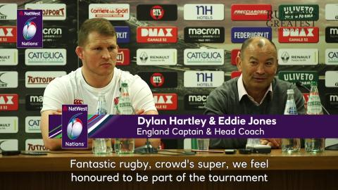 Eddie Jones on Round 1 of NatWest 6 Nations 2018 | NatWest 6 Nations