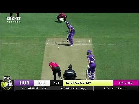 Hobart Hurricanes v Sydney Sixers, WBBL|03