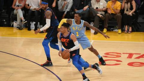 Best Crossovers and Handles From Week 12 of the NBA Season (Russell Westbrook, Lonzo, CP3 and More!)