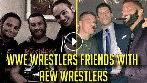 10 WWE Wrestlers That Are FRIENDS With AEW Wrestlers In REAL