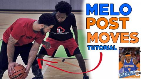Carmelo Anthony Post Moves Breakdown! [Basketball Post Moves]