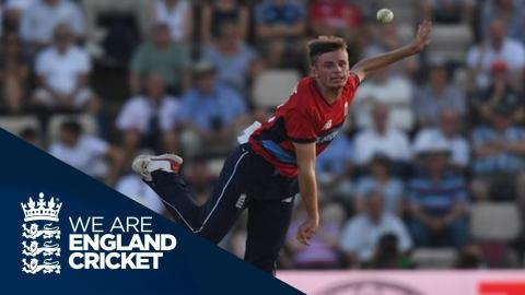 It Was A Special Debut: Mason Crane - England v South Africa 1st NatWest IT20 2017