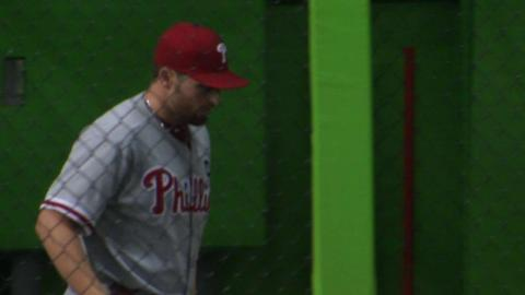 PHI@MIA: Asher tosses seven frames of one-run ball