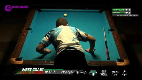 #2 • Francisco BUSTANANTE vs John MORRA / 2016 WCC 10-BALL