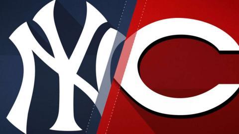 5/9/17: Reds use five-run 2nd to beat Yanks, 5-3
