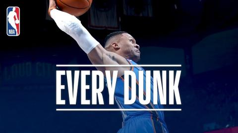 Russell Westbrook, Lonzo Ball, and Every Dunk From Wednesday Night | November 22, 2017