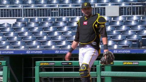 SF@PIT: Cervelli begins baseball workouts