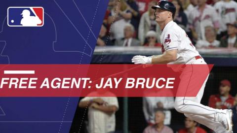 Bruce's bat available on the free agent market