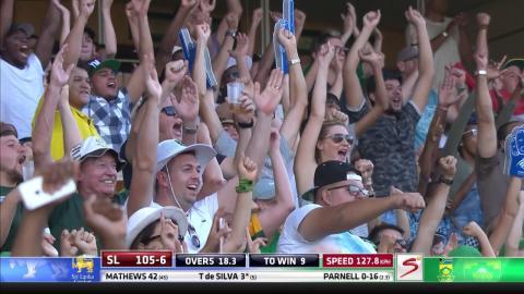 South Africa vs Sri Lanka - 2nd T20 -   Thikshila de Silva  Wicket
