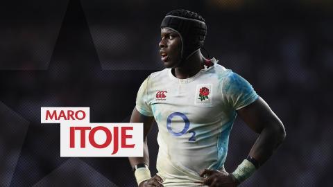 Six Nations Star Player   England's Maro Itoje