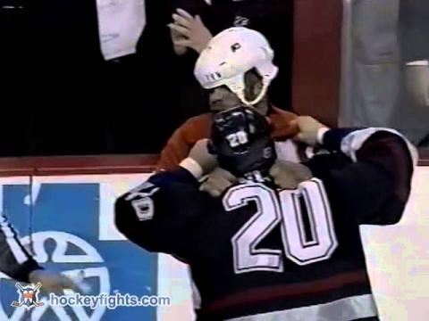 Darren Langdon vs Donald Brashear Mar 4, 2003
