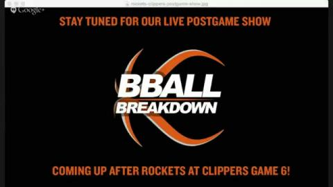 Cavaliers At Bulls/Rockets At Bulls Game 6 LIVE Halftime And Post Game Shows