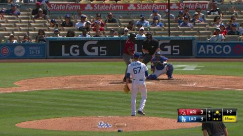 ARI@LAD: Stripling retires Bourn with a strikeout