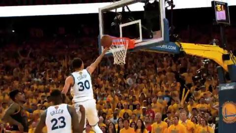 NBA Finals Phantom Raw: Curry's Game-Tying Finger Roll