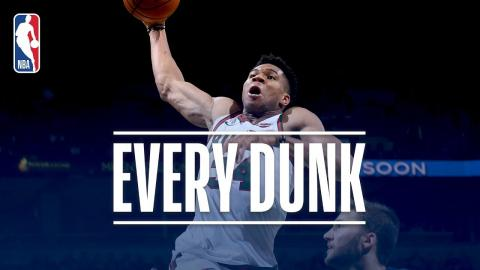 Jaylen Brown, Giannis Antetokounmpo, and Every Dunk From Friday Night | December 8, 2017