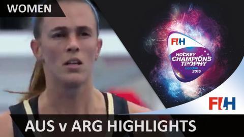 Australia v Argentina - Match Highlights #HCT2016